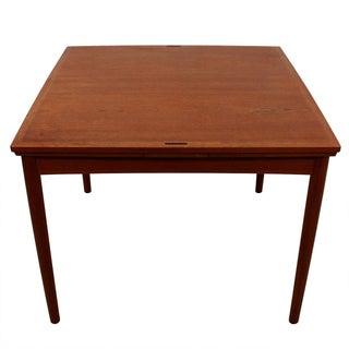 Danish Teak Expanding Flip-Top Table