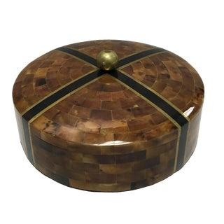 Maitland-Smith Pen Shell Round Box