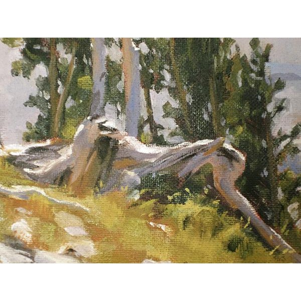 Ruby Mountain Valley Painting - Image 4 of 5