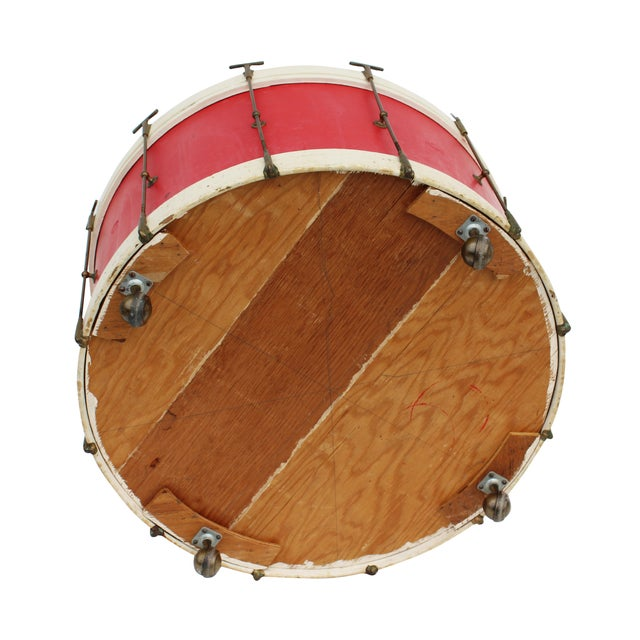 Round Drum Table on Casters - Image 6 of 6