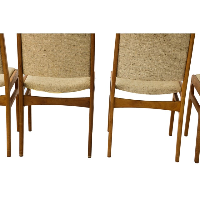Vintage D-Scan Danish Teak Chairs - Set of 4 - Image 7 of 10