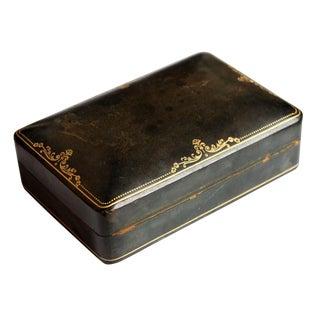 Italian Leather Jewelry Box