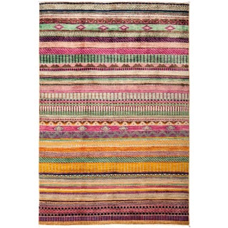 "Lori Hand Knotted Area Rug - 4'2"" X 6'2"""