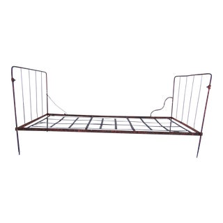 Antique Iron Daybed