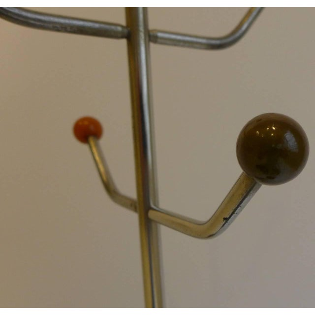 Slender Machine Age Hat Rack or Coat Rack - Image 8 of 10