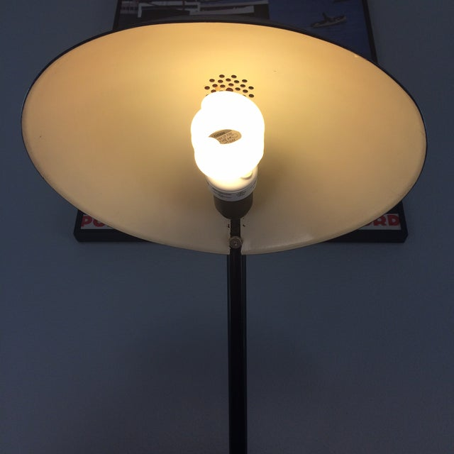 Vintage Black Metal Atomic Desk Lamp - Image 10 of 11