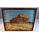 Image of Antique Greek Parthenon Needlepoint