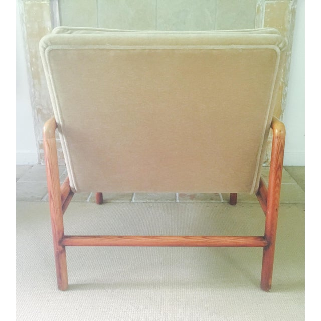 Mid Century Lounge Chairs - a Pair - Image 8 of 11