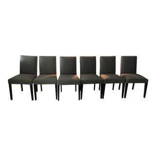 Peyton Chair in Flint Fabric - 6