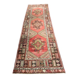 "Bellwether Rugs Vintage Turkish Oushak Runner - 3'3""x10'8"""
