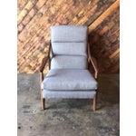 Image of Custom Danish Mid-Century Style Lounge Chair