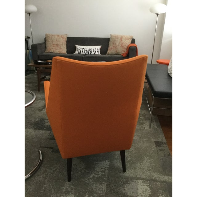 Paul McCobb Orange Squirm Chairs - a Pair - Image 3 of 5