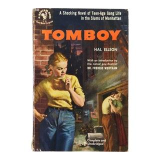 """""""Tomboy"""" Hal Ellson Bantam 1951 Vintage Pulp Paperback Book"""