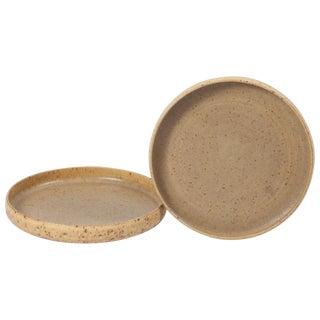 Midcentury Ceramic Serving Plates by Per Linnemann Schmidt, Pair