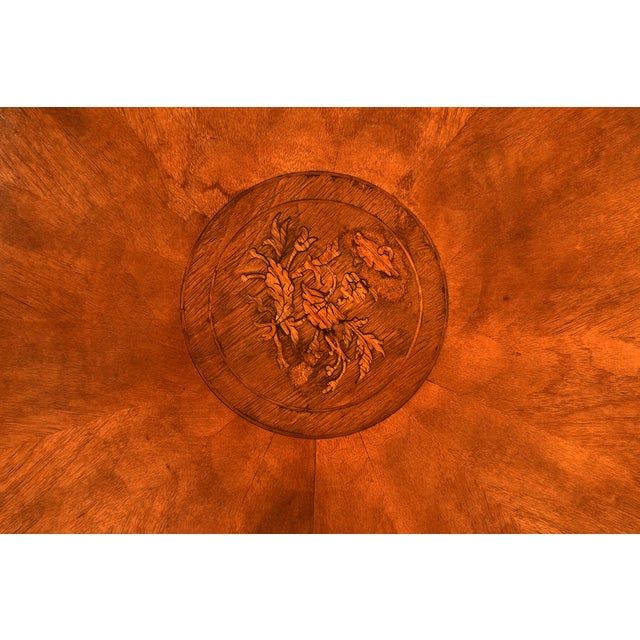 French Antique Louis Philippe Tilt-Top End Table - Image 6 of 9
