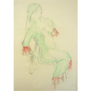 Pastel Dancer Sketch