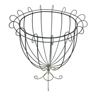 Vintage Wire Planter Topiary