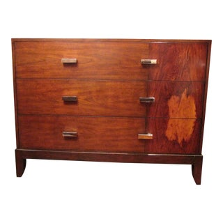 Theodore Alexander Walnut Chest of Drawers