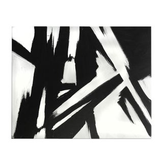 Black and White Original Abstract Painting
