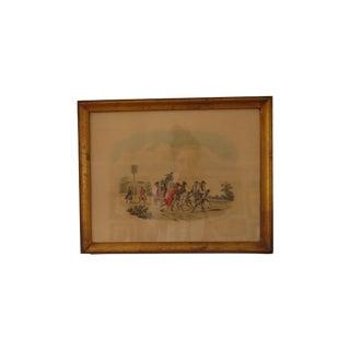 Stagecoach Redcoats Framed Artwork