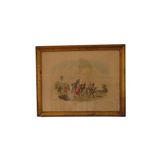 Stagecoach Redcoats Framed Artwork