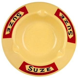 Vintage French Porcelain Suze Ashtray
