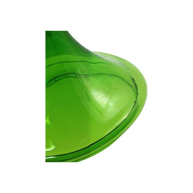 1960s Green Blown Glass Bonbonniére - Image 5 of 7