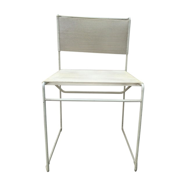 Mid-Century Fly Line Spaghetti Chairs - Set of 4 - Image 1 of 6