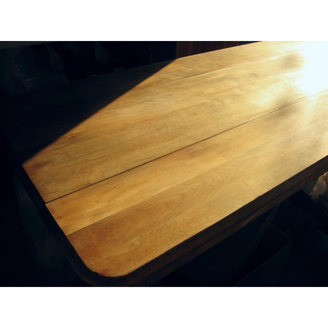 Grand Antique Farm Kitchen Table, 10' Length - Image 6 of 9