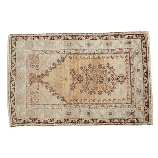 "Vintage Prayer Oushak Rug - 3'1"" x 4'7"""