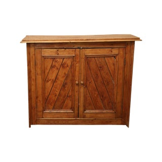 French Pine Side Board