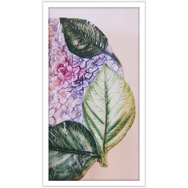 Isabella De Borchgrove Italian Flower Plates - A Pair - Image 5 of 10