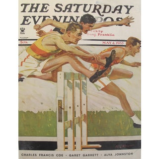Original Saturday Evening Post 1932, Athletics