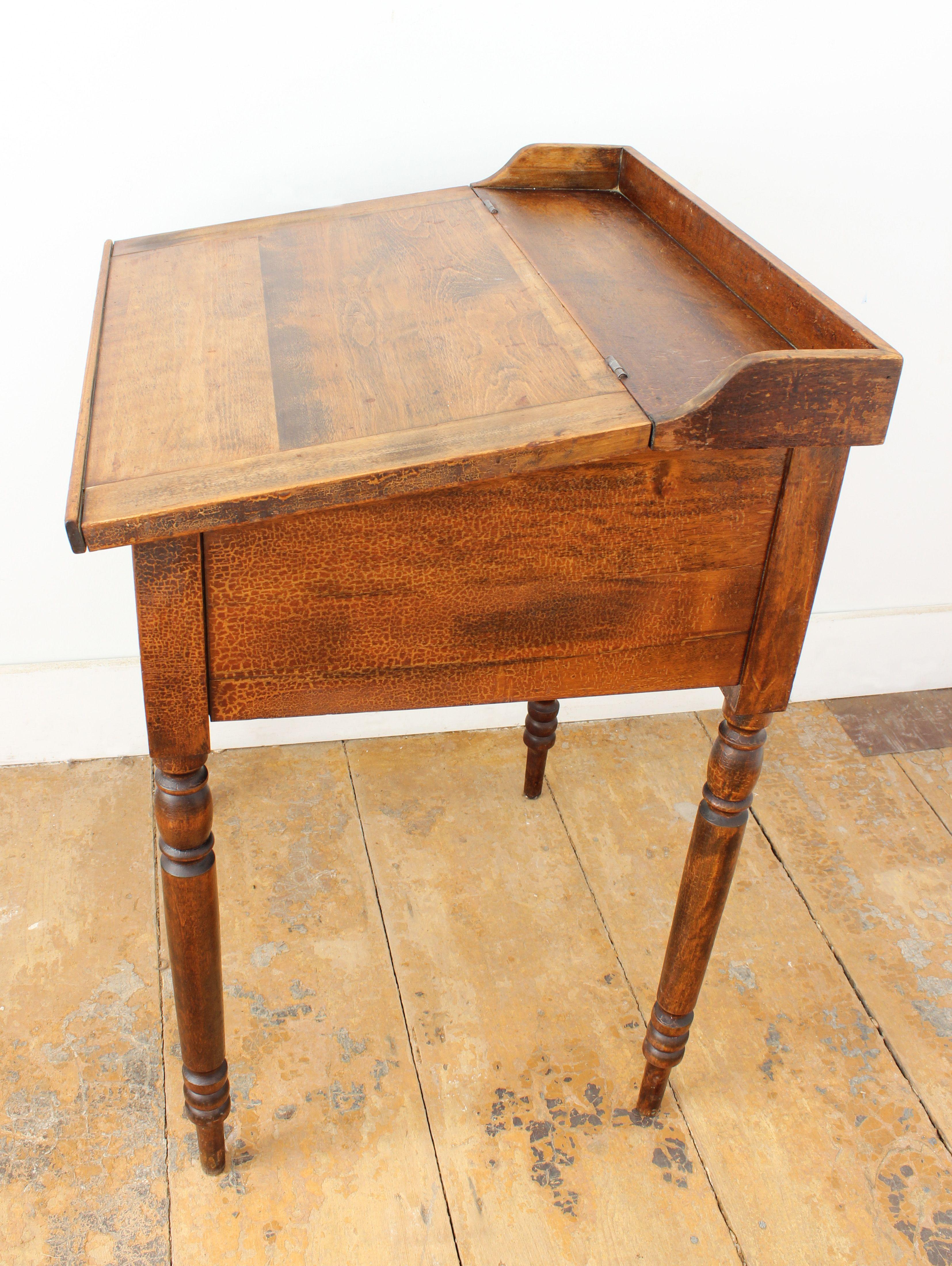 Antique Small Slant Top Desk Chairish