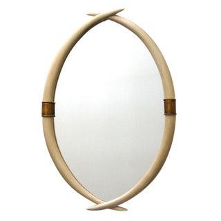 Ivory Tusk Mirror