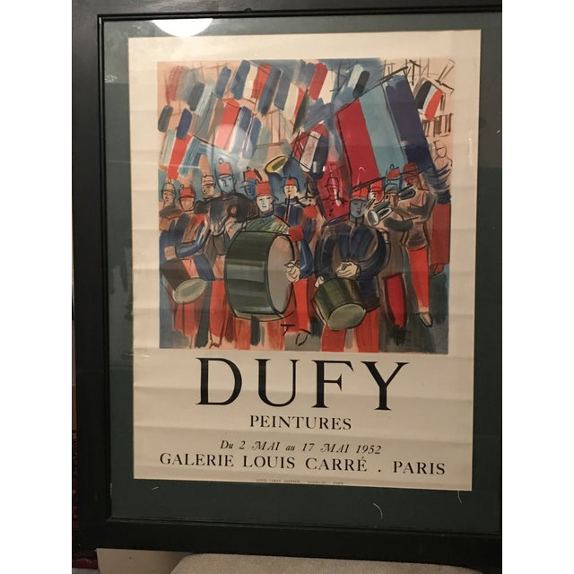 Image of Mourlot & Raoul Dufy 1952 Exhibition Poster