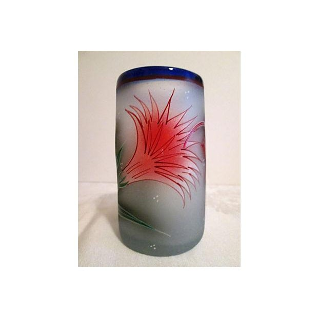 Mexican Frosted Hummingbird Glasses - S/6 - Image 5 of 6