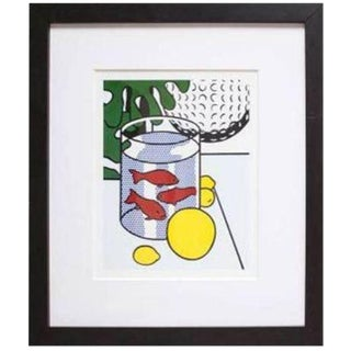 "Lichtenstein ""Still Life With Goldfish Bowl"""