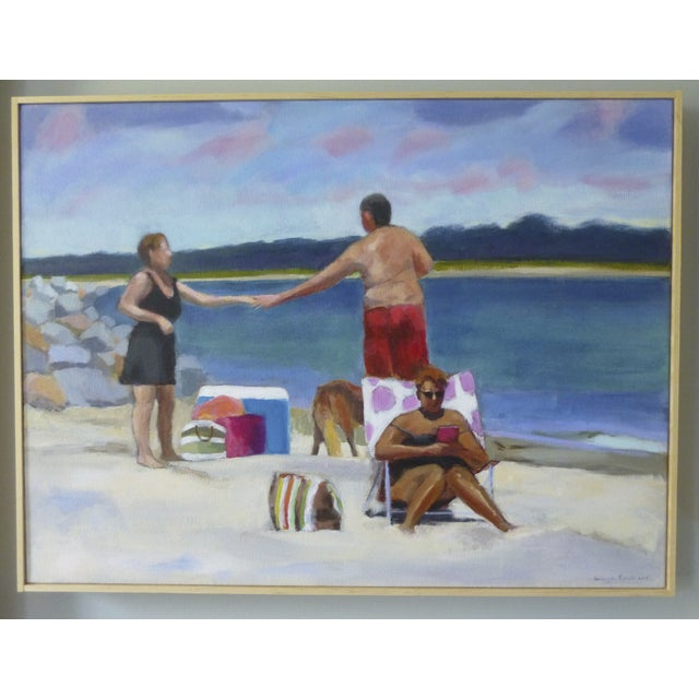 Original Painting - Love at the Beach by Anne Carrozza Remick - Image 2 of 4