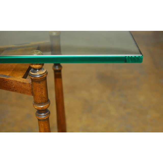 Image of Henredon Glass Top Console