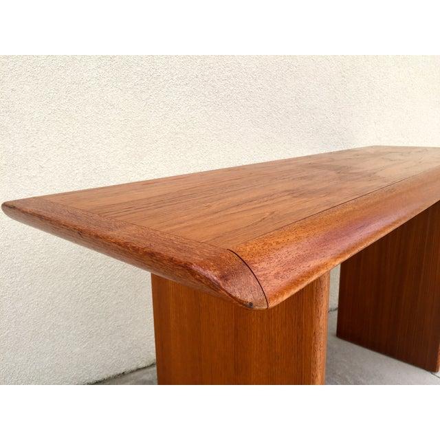 Mid Century Teak Console Table - Image 6 of 11