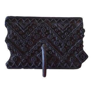 Printing Block Textile Hook