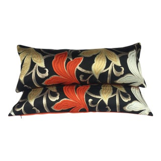 Japanese Obi Pillows - A Pair