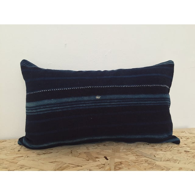 Image of Double-Sided Indigo Cloth Pillow