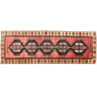 "Turkish Oushak Runner - 4'5"" X 12'10"""