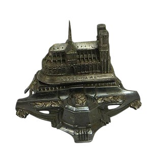 Paris Notre Dame Church Inkwell