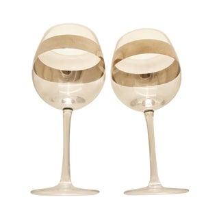 Mid-Century Dorthy Thorpe Wine Glasses- Pair