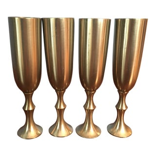Pewter Cordial Glasses - Set of 4