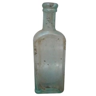 Vintage Hamlins Glass Bottle