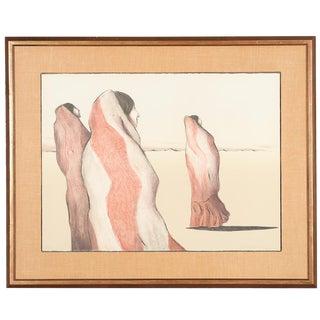 Navajo Women Lithograph by R.C. Gorman